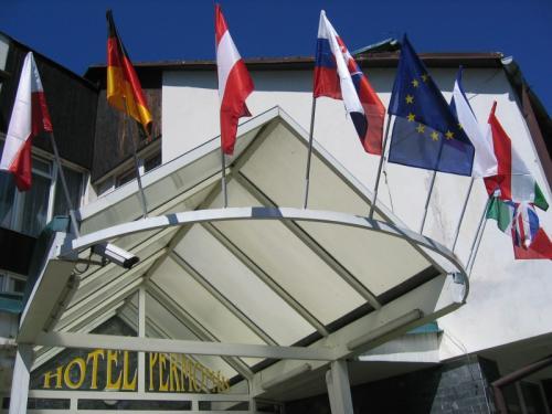 Hotel Permoník vstup